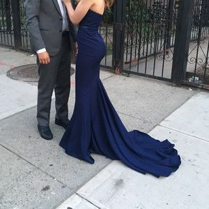 Dresses & Skirts - 'Arianna' gown in navy blue